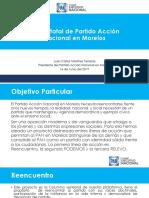 Curso para Aspirantes a Dirigencias Municipales Plan de Trabajo CDE Morelos