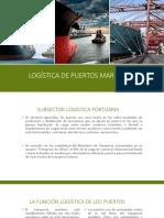 Logística de Puertos MARITIMOS