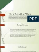 Historia del dance