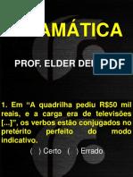 Aula 01 - Básico 2 VG - Gramática - Prof. Elder Dencati - Slides