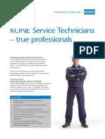 Kone Service Technician Factsheet Tcm25 18804