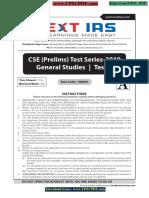 Next IAS Prelims 2019 Test 1 Question [UPSCPDF.com]