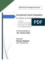 Cpmanies Valuation