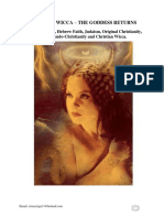 Christian Wicca - The Goddess Returns