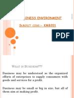 01 Business Environment
