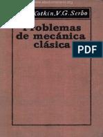 Problemas de Mecánica Clásica - G. L. Kotkin, V. G. Serbo - 1ra Edición