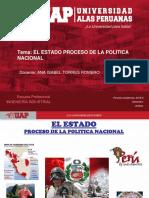 El Estado proceso de la política nacional