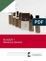 Bloque 1 MECANICA