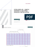 Steelgrid HR - Installation