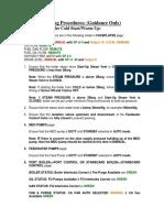 Operator Guide for Boiler