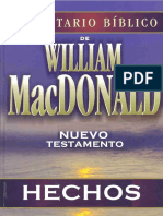 Comentario Bíblico de William McDonald - Hechos
