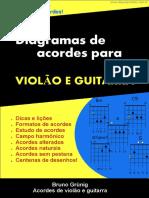 [Cliqueapostilas.com.Br] Diagramas de Acordes Para Violao e Guitarra