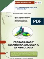 Probabilidad y Estadística Aplicada a La Hidrología