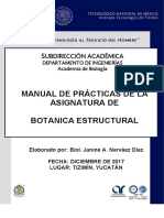 Botanica Estructural