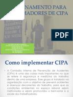 Treinamento Instrutor CIPA