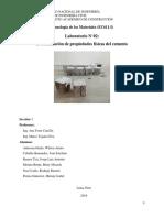 Laboratorio N°2-Determinación de las propiedades físicas del cemento