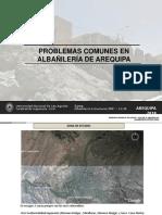fallas albañileria
