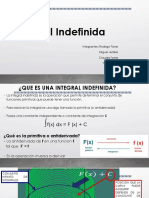 Integral Indefinida