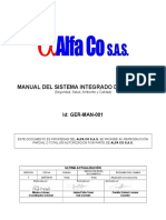 Ger-man-001 Manual Integrado de Gestión Hseq