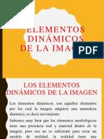 Los Elementos Dinamicos de La Imagen