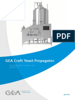 GEA Craft Yeast Propagator