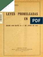 Leyes de Imprenta