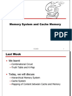 Lec6 Memory Cache0910