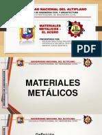 EL ACERO - MATERIALES DE CONSTRUCCIÓN