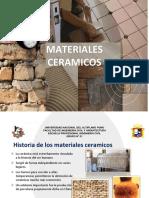CERÁMICOS - MATERIALES DE CONSTRUCCIÓN