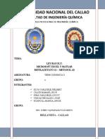 Ley de Rauolt - Metilacetato - Metanol