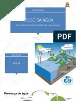 Reuso da água - Gestão Ambiental