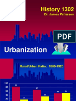 urbanization ppt patterson hist 1302