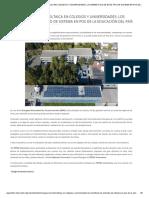 Energía Solar Fotovoltaica en Colegios y Universidades_ Los Beneficios de Este Tipo de Sistema en Pos de La Educación Del País _ Tritec-Intervento