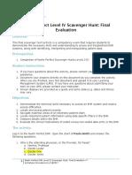 neehr perfect ehr level iv scavenger hunt-final evaluation v7