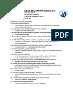 16.- Fecundación,Embarazo y Parto. Examen 2do Quimestre