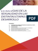 Estrategias de la Sexualidad según las  etapas de desarrollo