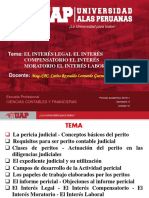 Semana 8 - Interes Legal, Compensatorio, Moratorio y Laboral