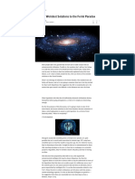 11 of the Weirdest Solutions to the Fermi Paradox - io9 - 2013.pdf