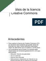 Comentarios Licencia CC