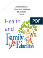 Health and Family Life Education 1