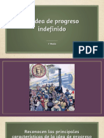 1° Medio. La idea del progreso indefinido