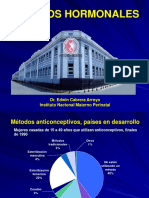 05 Métodos Hormonales 2019 Dr Cabrera