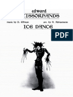 Ice Dance From Edward Scissorhands