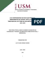 326984328 Comprobantes de Pago Electronicos Como Herramientas Para Evitar La Evasion Fiscal en Lima Metropolitana