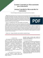 Prototipo Floculador Controlado Por Microcontrolador Para Laboratorio