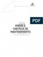 CARTILLA DE MANTENIMIENTO