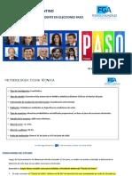 Encuesta Intencion De Voto Nacional Junio 2019