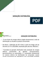 Aula 4 - TDE - Geração Distribuida
