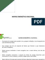 Aula 3 - TDE - Matriz Energética Nacional