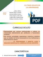 Trabajo Ethos Oculto Universidad Domingo